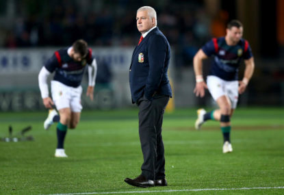 Warren Gatland is ruining the Lions series