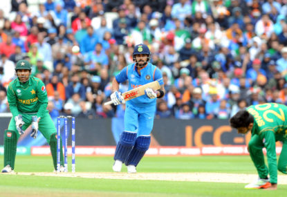 Virat Kohli questions DRS after controversial decision