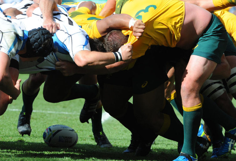 Wallabies Uruguay scrum 2015 rugby world cup