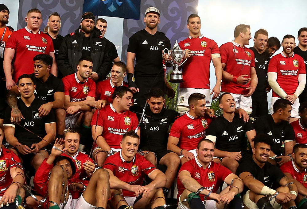All Blacks British and Irish Lions New Zealand Rugby Union 2017