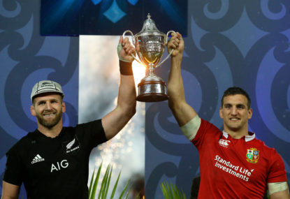Highlights: It's a draw! 15-15, All Blacks and Lions can't be split