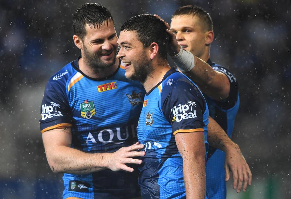 Ashley Taylor Gold Coast Titans NRL Rugby League 2017