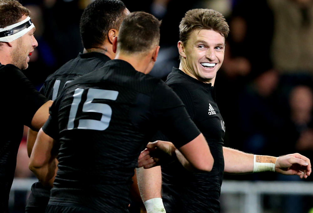 Beauden Barrett All Blacks New Zealand Rugby Union 2017