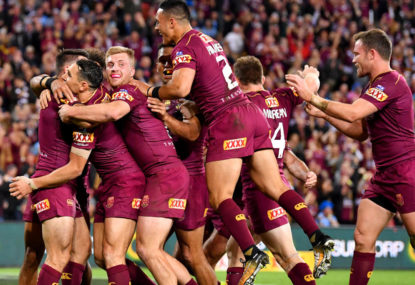 How has this Origin series changed the Australian team?