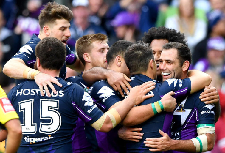 Cameron Smith Melbourne Storm NRL Rugby League 2017