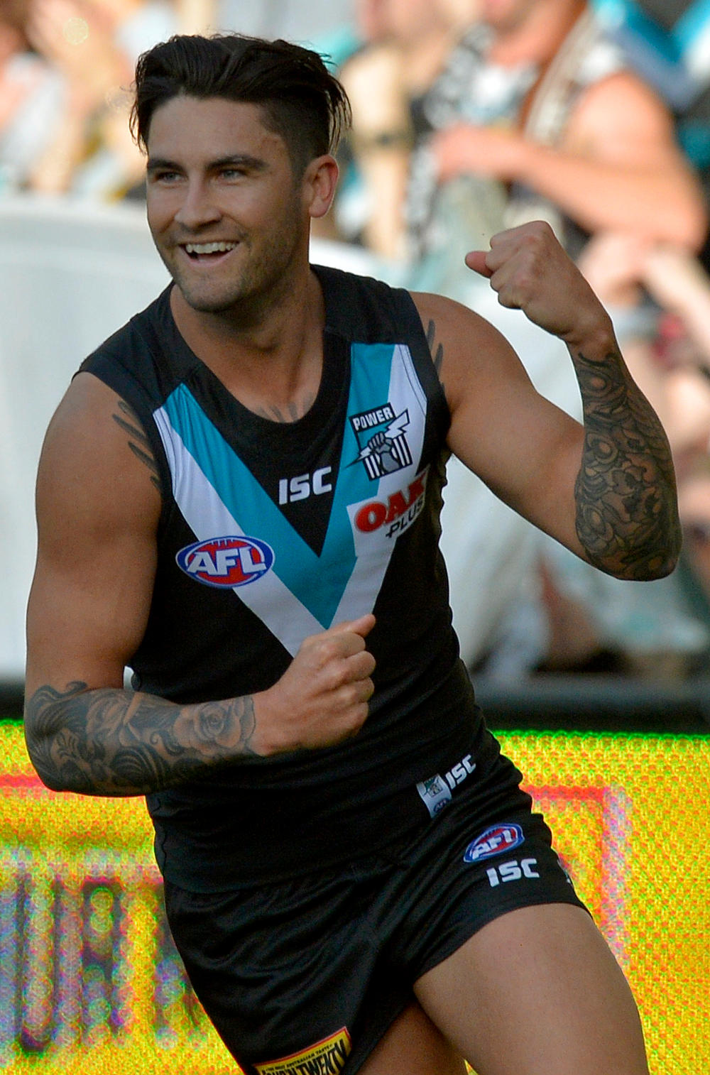 Chad Wingard Port Adelaide Power AFL 2017 tall
