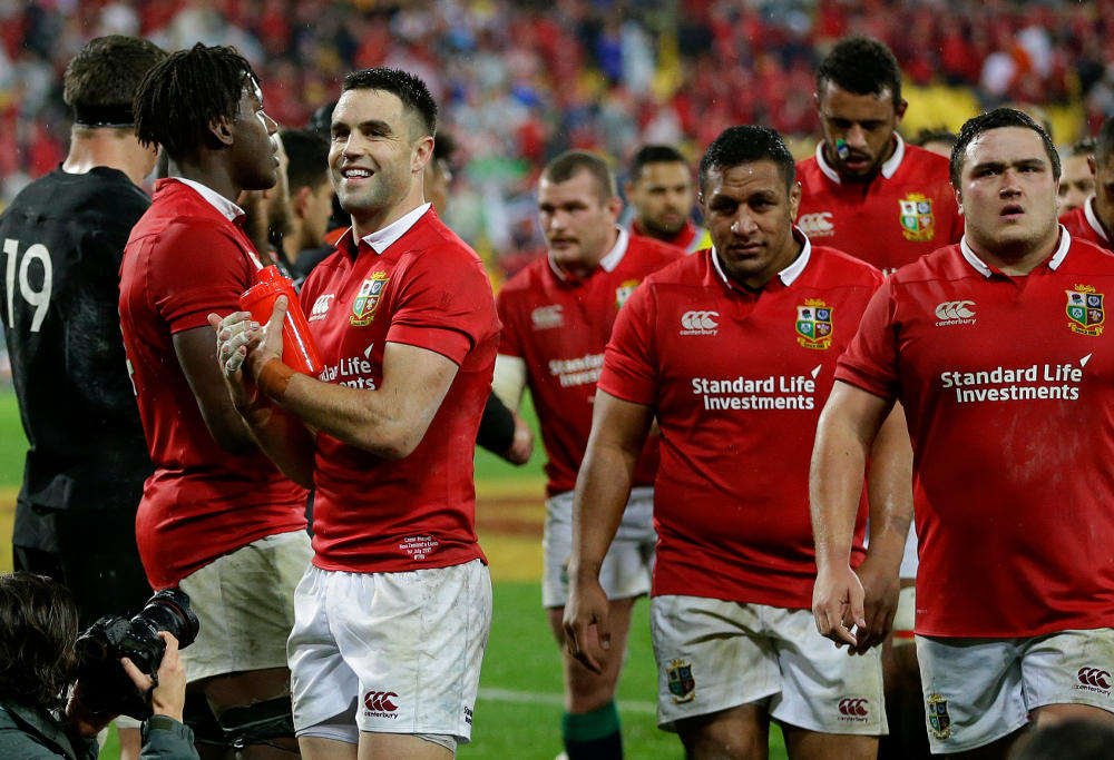 Conor Murray British and Irish Lions Rugby Union 2017