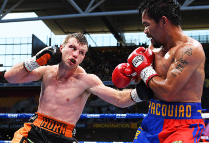 Rise and fall: Boxing, Horn and Pacquiao