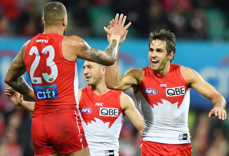 Josh P Kennedy Sydney Swans AFL 2017