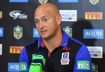 Brown praises Knights for keeping heads up after 'stiff' refereeing decision