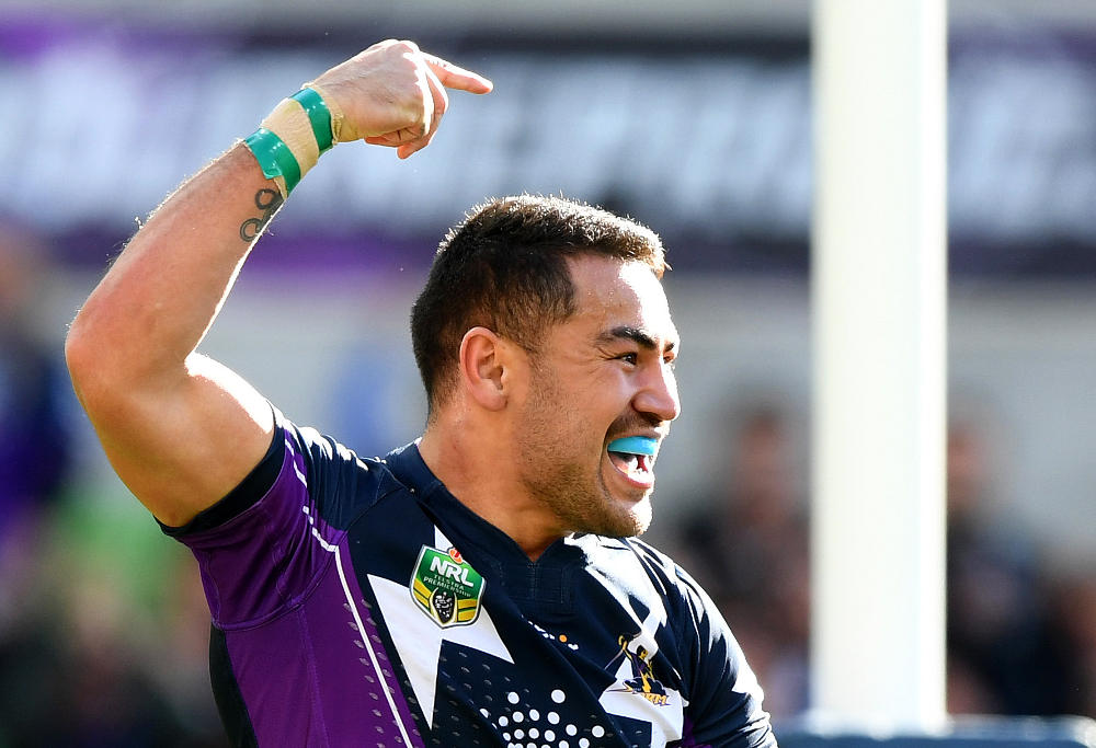 Nelson Asota-Solomona Melbourne Storm NRL Rugby League 2017