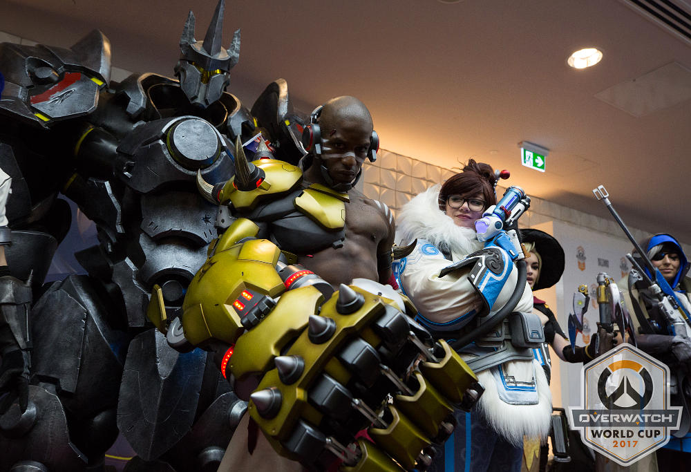 Overwatch World Cup Cosplay