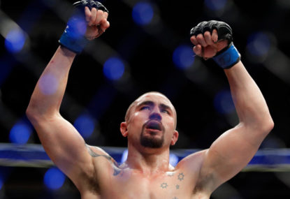Robert Whittaker is the world's best middleweight