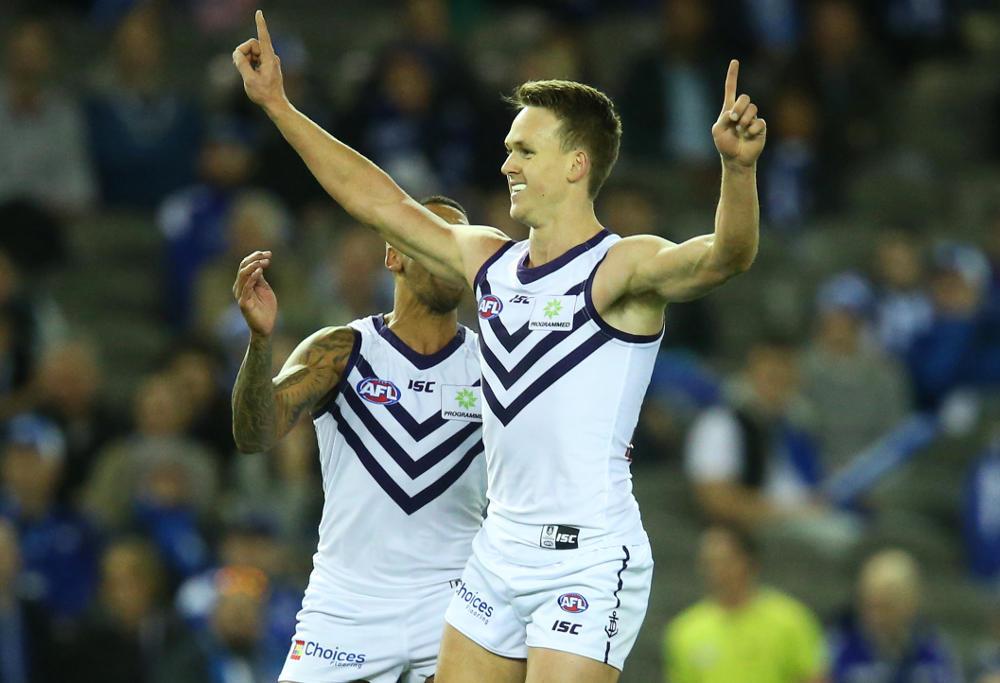 Ryan Nyhuis Fremantle Dockers AFL 2017