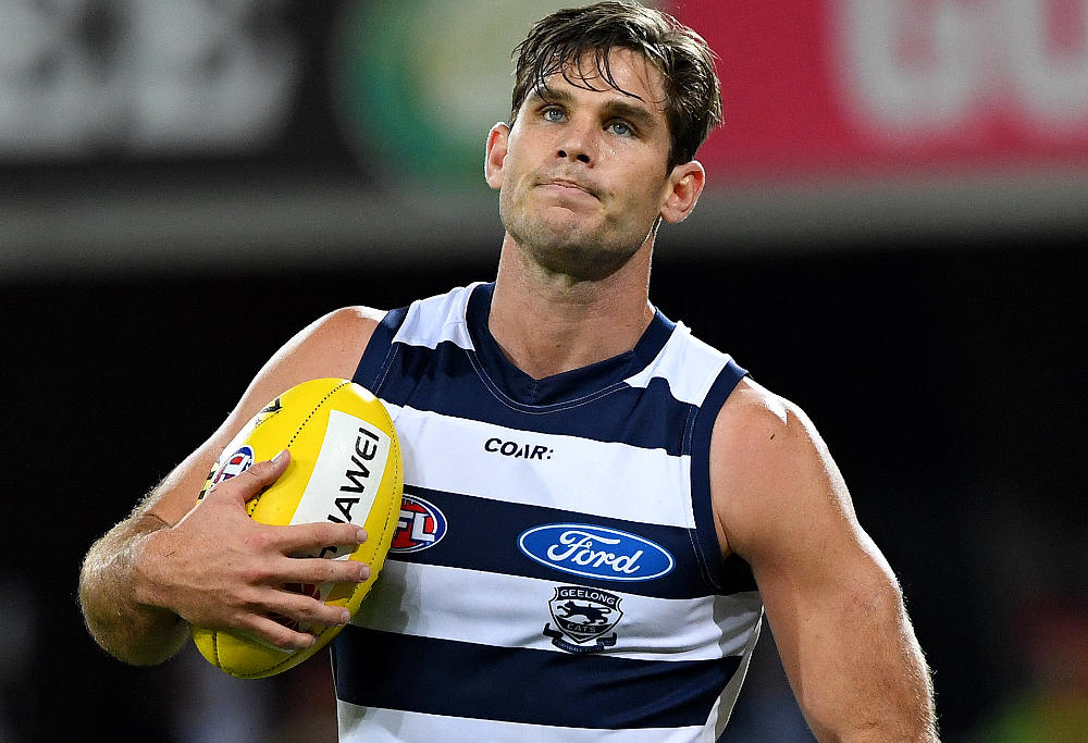 Tom Hawkins Geelong Cats AFL 2017