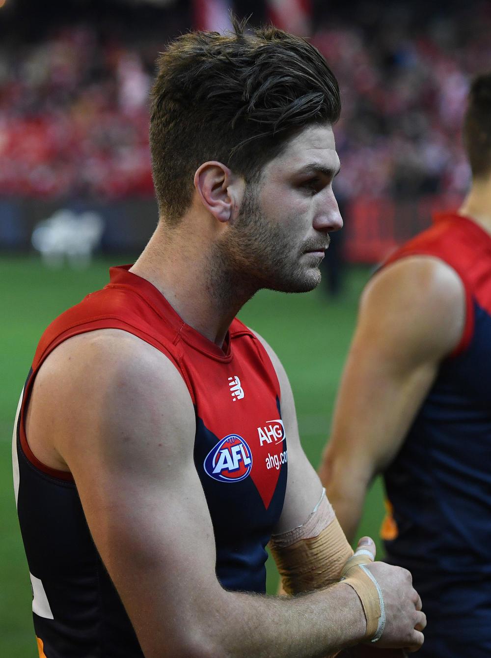 Tomas Bugg Melbourne Demons AFL 2017 tall