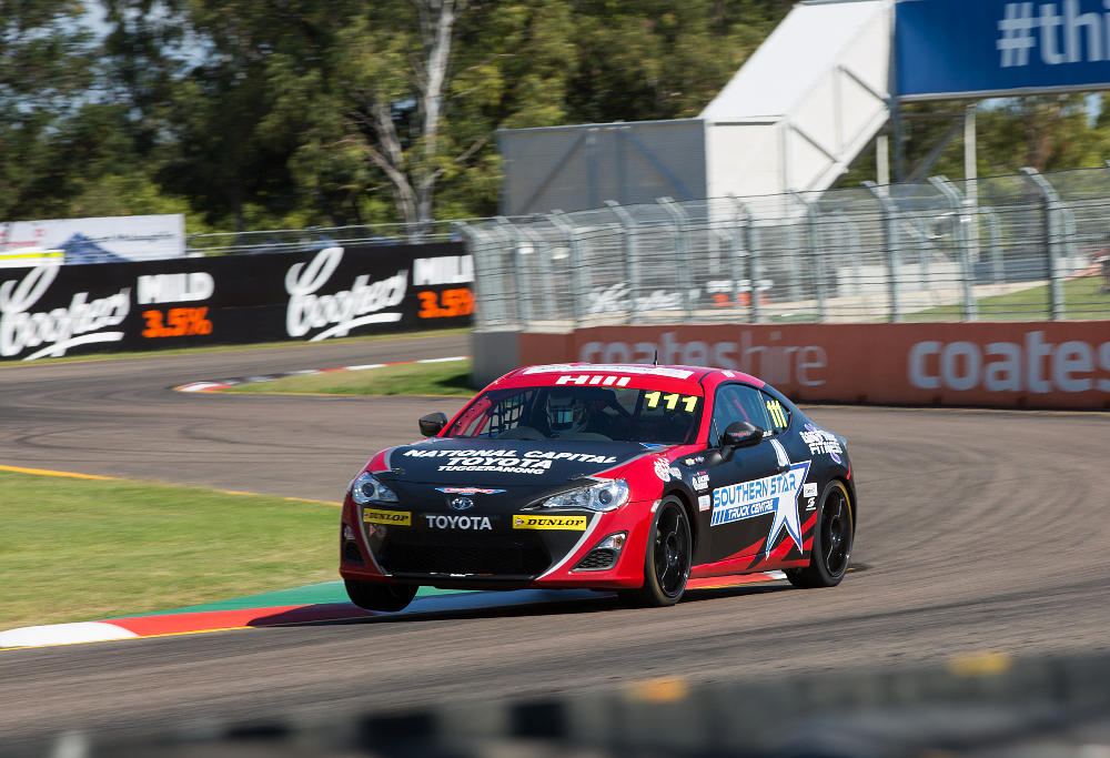 Cameron Hill driving Toyota 86