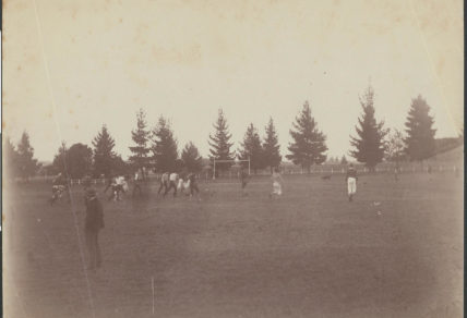 A football game in Victoria c.1890