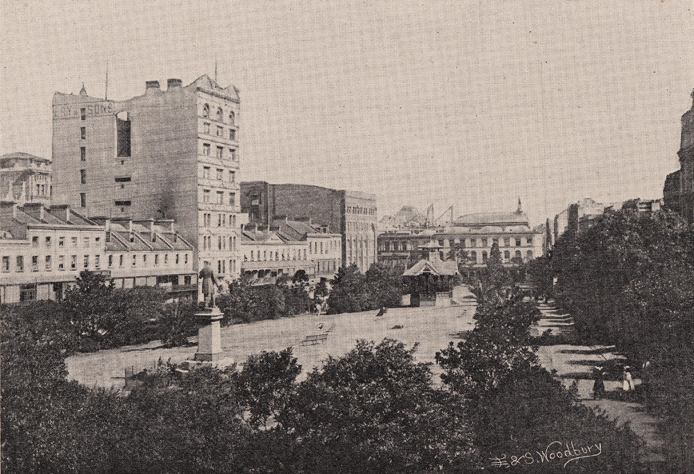 Wynyard Square circa 1897