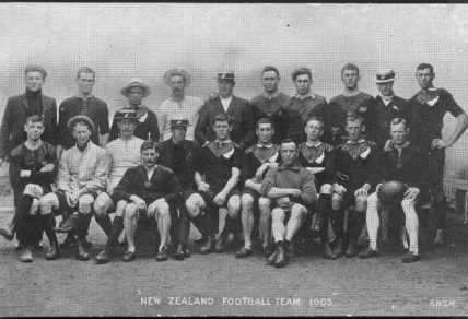 1905-06 all blacks team