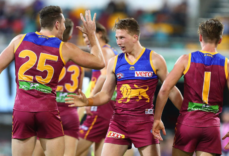Alex Witherden Brisbane Lions 2017 AFL