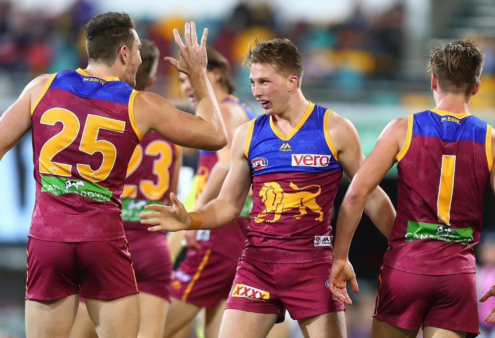 Alex Witherden Brisbane Lions 2017 AFL