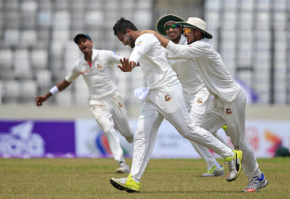 Spinning triumphs: Bangladesh's victory over Australia