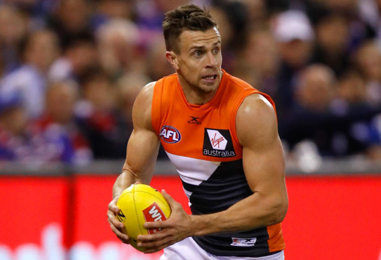 Brett Deledio GWS Giants AFL 2017
