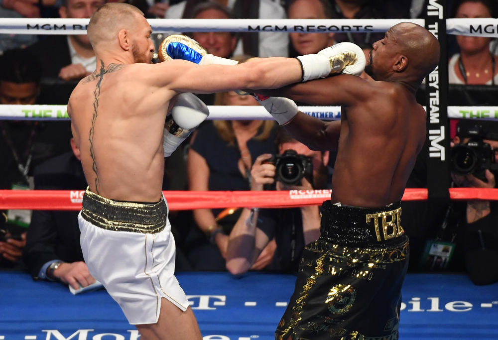 Conor McGregor Floyd Mayweather Boxing 2017