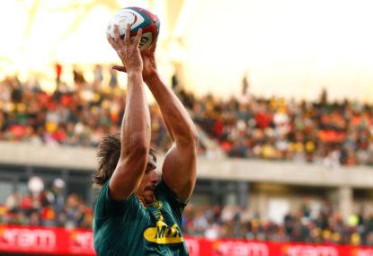 Springboks beat Pumas in rugby Test