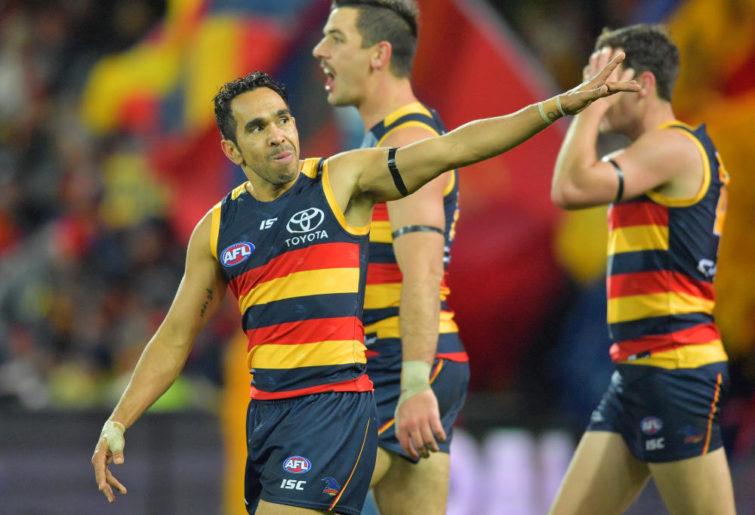 Eddie Betts Adelaide Crows AFL 2017