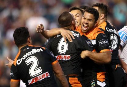 Wests Tigers vs New Zealand Warriors: NRL live scores, blog