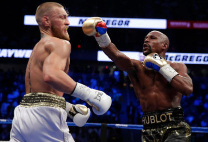 The Best Ever: Mayweather defeats McGregor by TKO in tenth round