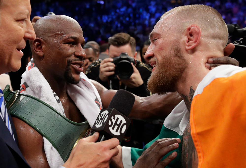 Floyd Mayweather Conor McGregor Boxing 2017