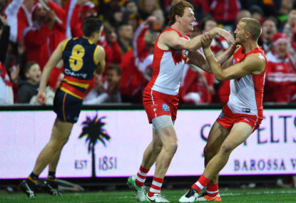 Dan Hannebery and Gary Rohan set to be traded by the Swans