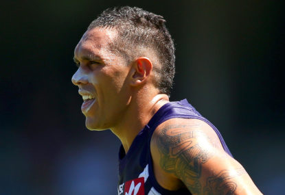 Ross Lyon wants Harley Bennell to remain a Docker