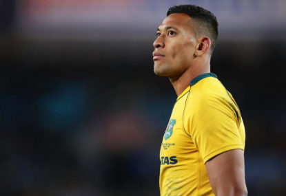 The 'clear frontrunner' to replace Folau for the Wallabies