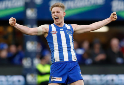 North Melbourne stuns Hawthorn to take a top-four spot