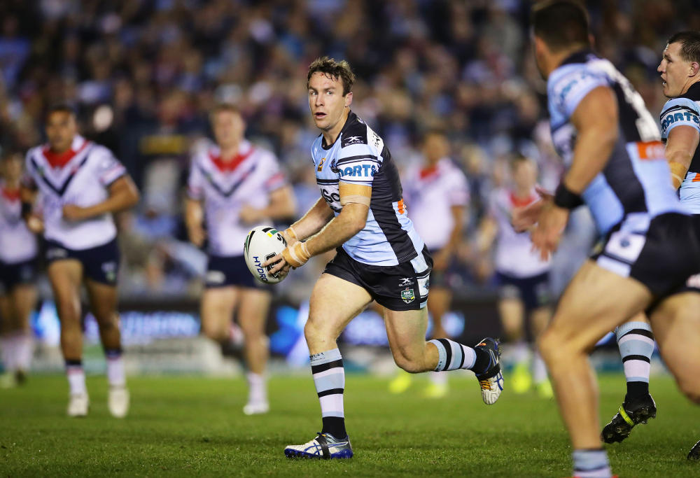 James Maloney Crounlla Sharks NRL Rugby League 2017