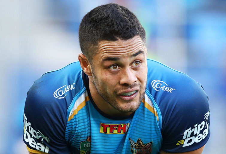 Jarryd Hayne Gold Coast Titans NRL Rugby League 2017