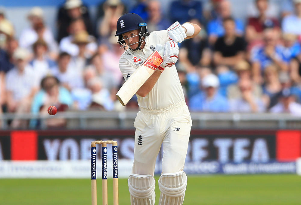 England's Joe Root during day four of the the second Investec Test match at Headingley, Leeds.
