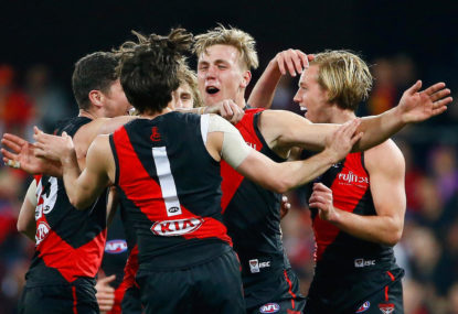 The unsung hero in Essendon's unlikely finals push at a time when he needed it most