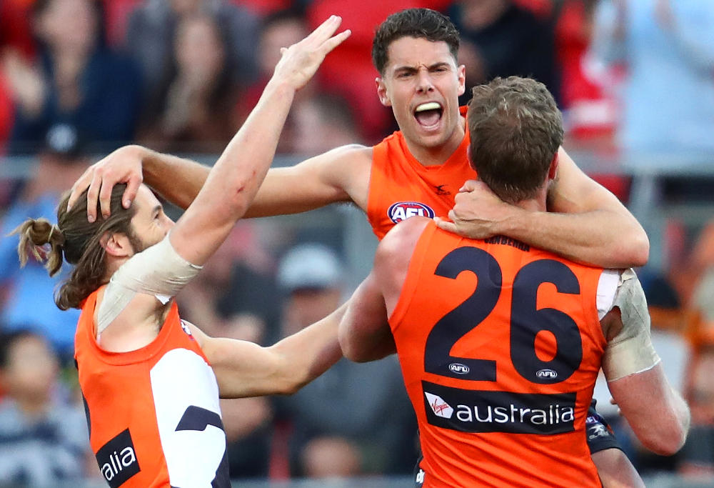 Josh Kelly GWS Giants AFL 2017