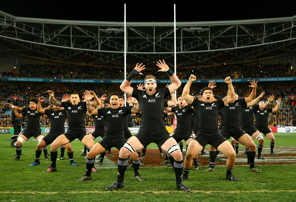 Kieran Read New Zealand Rugby Union Championship Bledisloe Cup All Blacks 2017