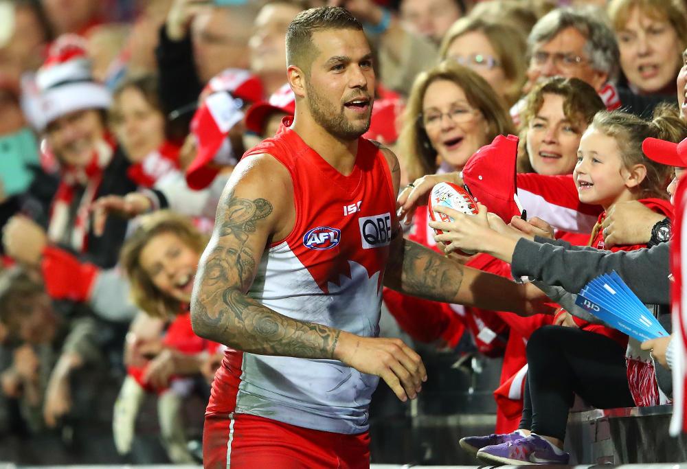 Lance Franklin Sydney Swans AFL 2017