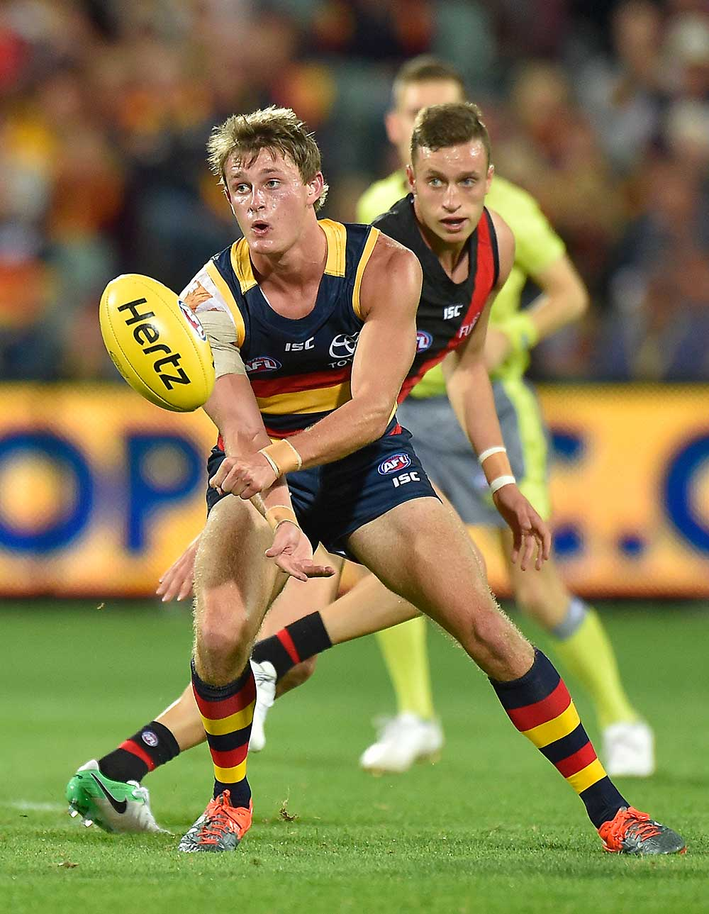 Matt Crouch of the Adelaide Crows tall