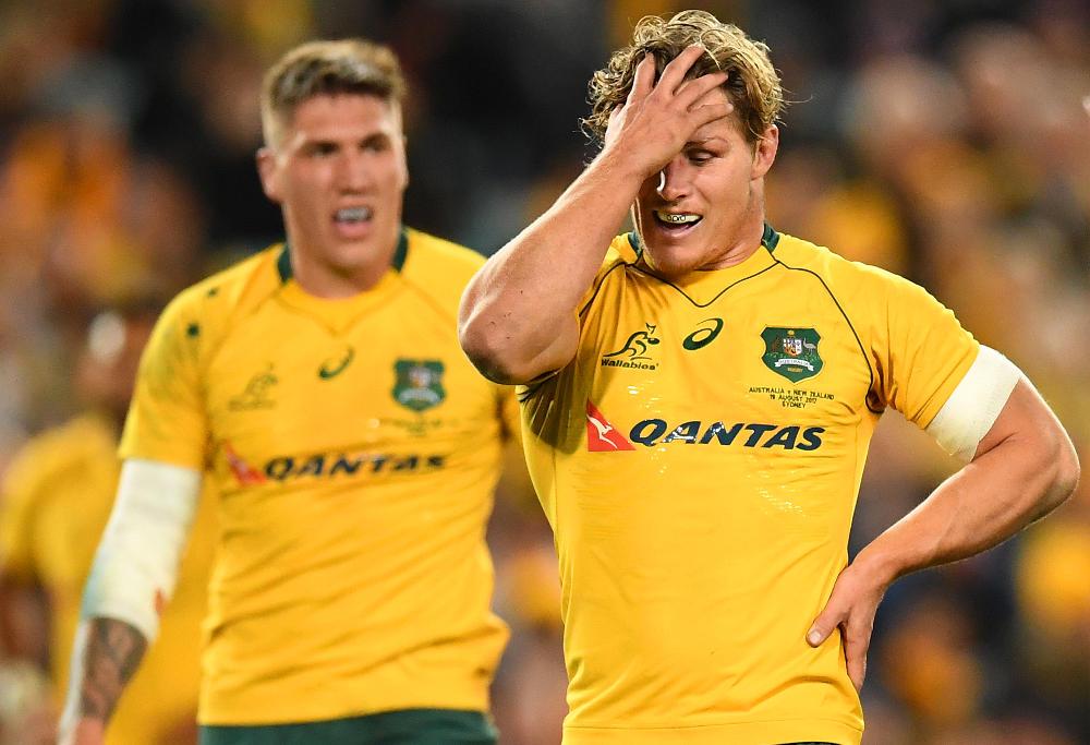 Michael Hooper Australia Rugby Union Championship Bledisloe Cup Wallabies 2017