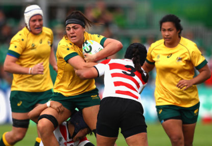 Wallaroos blast past Japan in Newcastle