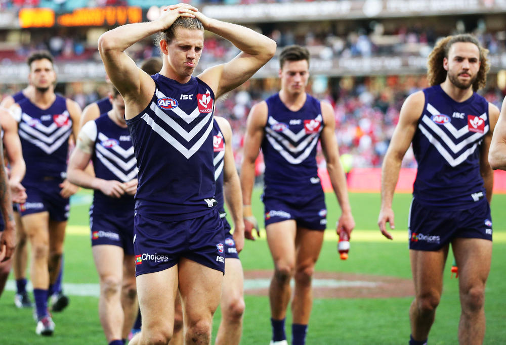 Nat Fyfe Fremantle Dockers AFL 2017