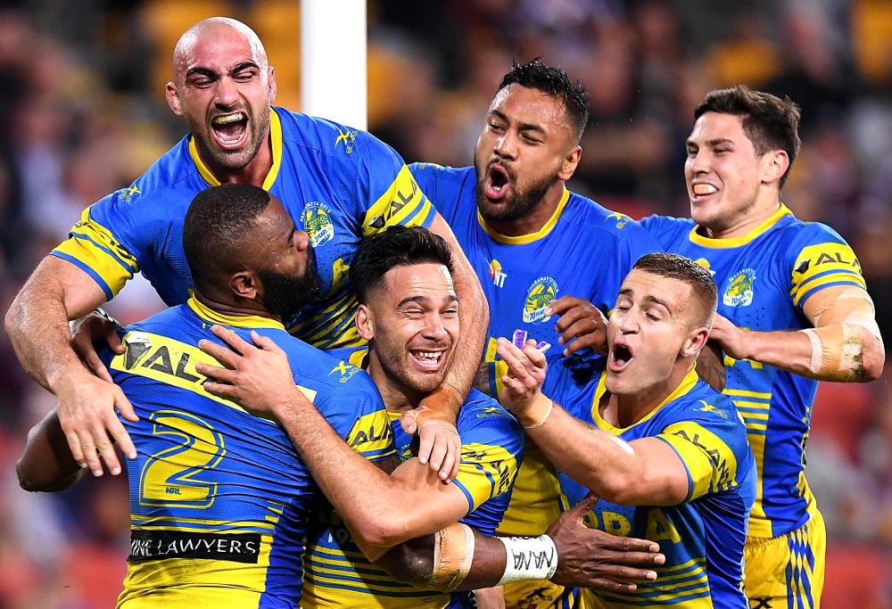 Parramatta Eels NRL Rugby League 2017